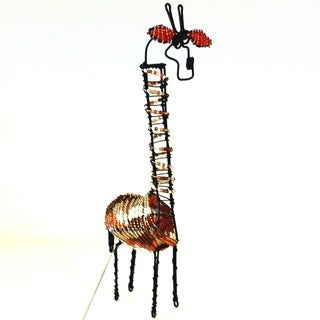 Bead and Wire Giraffe (Zuid Africa)