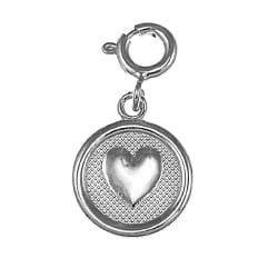 Sterling Silver '7 Wishes' Love Charm