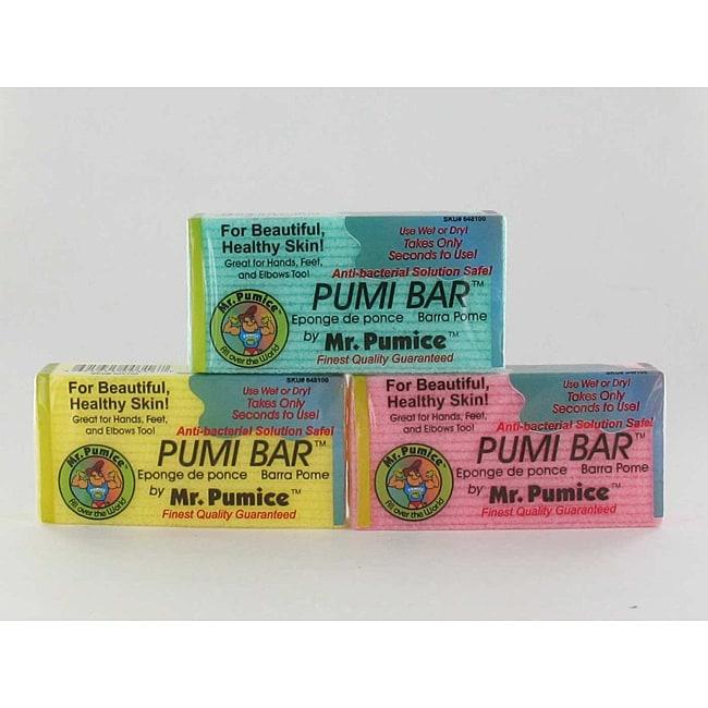 Mr. Pumice Pumi Bar (3 Pack)