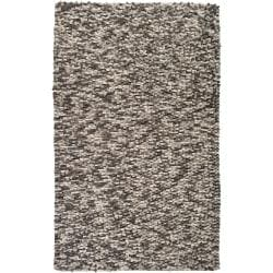 Hand-woven Blackpool New Zealand Wool Plush Textured Area Rug - 8' x 10' - Thumbnail 0