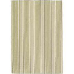 Hand-woven Blackburn Wool Area Rug (8' x 11') - Thumbnail 0