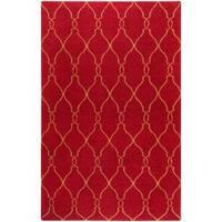 Hand-woven Bingham Wool Area Rug (8' x 11')