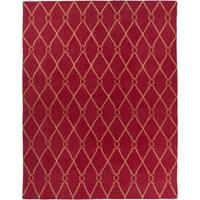 Hand-woven Bingham Wool Area Rug - 8' x 11'