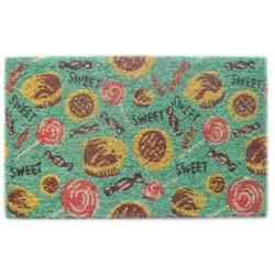 'Sweet Tooth' Coir Door Mat