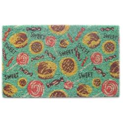 'Sweet Tooth' Coir Door Mat