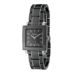 Peugeot Women's Swiss Ceramic Black Dial Watch