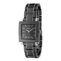 Peugeot Women's Swiss Ceramic Black Dial Watch