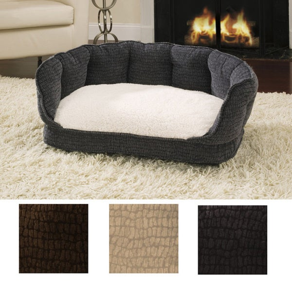 Deluxe Cuddle-Up Pet Bed