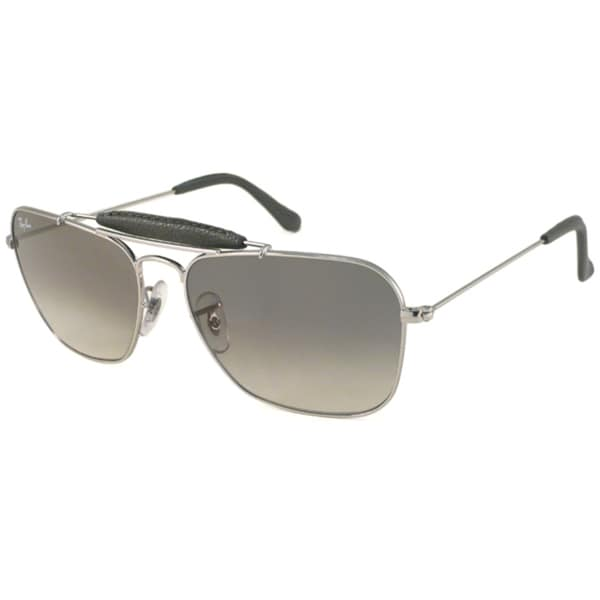80f49d2db63 Shop Ray-Ban RB3415Q Men s Caravan Aviator Sunglasses - Free Shipping Today  - Overstock - 6370185