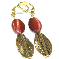 Susen Foster Designs 'Red Satin' Jewelry Set - Thumbnail 2
