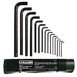 663Ml Metric Allen Wrench Set