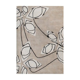 Alliyah Handmade Cuban Sand New Zealand Blend Wool Rug (8' x 10')