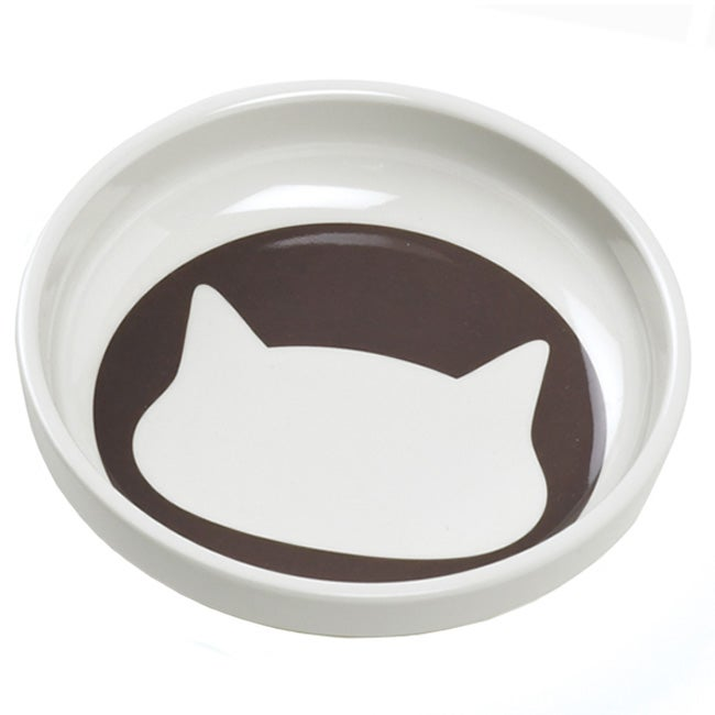 Ore Shadow Cat Bowl in Brown