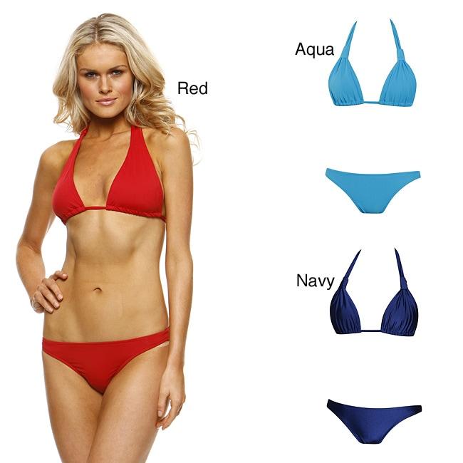 1 Sol Swim Women's Grecian Bikini