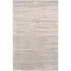 Hand-knotted Kempston Abstract Design Wool Rug (4' x 6')