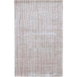 Hand-knotted Kendal Abstract Design Wool Area Rug (8' x 11') - Thumbnail 0