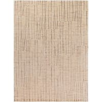 Hand-knotted Hythe Abstract Design Wool Area Rug - 8' X 11'