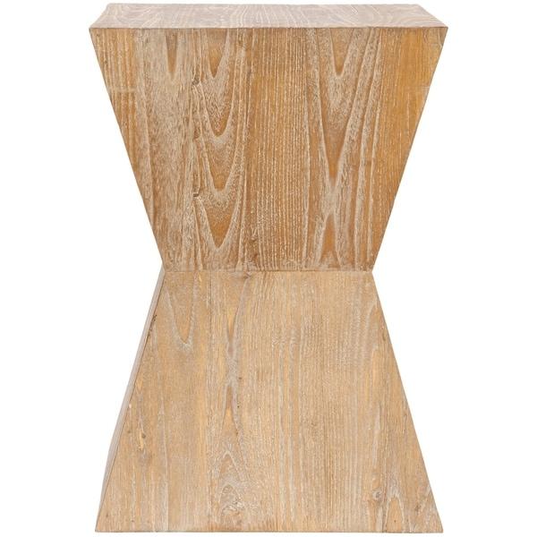 "SAFAVIEH Bali Sugkai Wood Side Table - 14"" x 14"" x 20"". Opens flyout."