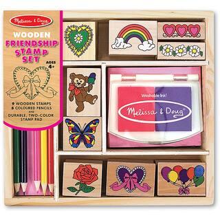 Melissa & Doug Friendship Stamp Set - MultiColor