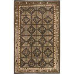Hand-knotted Luton New Zealand Wool Area Rug (9' x 13') - Thumbnail 0