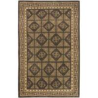 Hand-knotted Luton New Zealand Wool Area Rug - 9' x 13'
