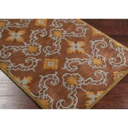 Hand-tufted Howden New Zealand Wool Rug (9' x 13') - Thumbnail 1