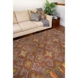 Hand-tufted Howden New Zealand Wool Rug (9' x 13') - Thumbnail 2