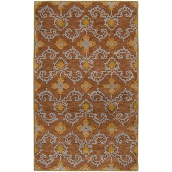 Hand-tufted Howden New Zealand Wool Area Rug - 9' x 13'