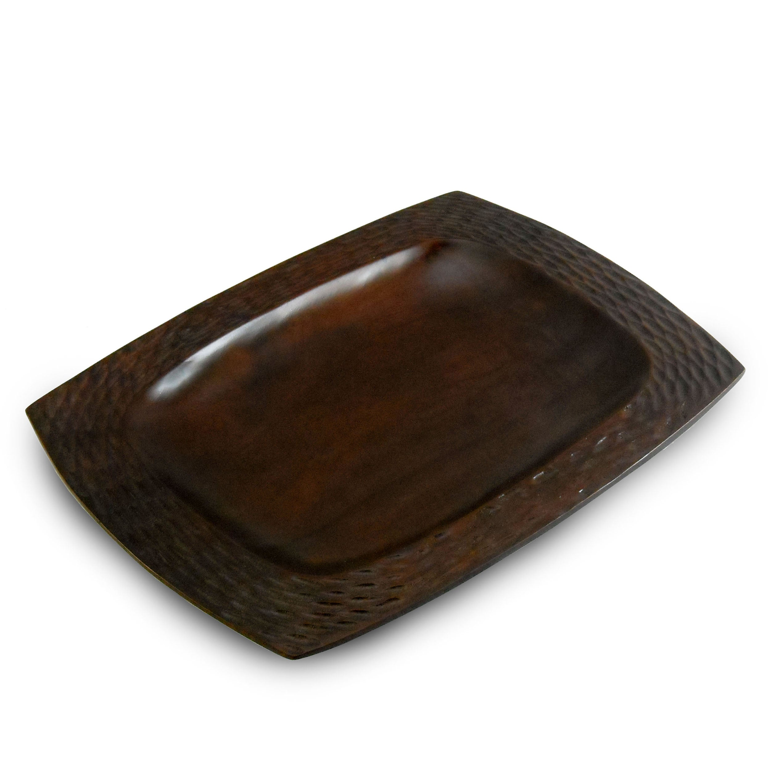 Chocolate Mango Wood Serving Platter (Thailand)