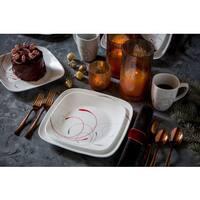 Corelle Splendor Square Round 16-piece Dinnerware Set (Set of 4)