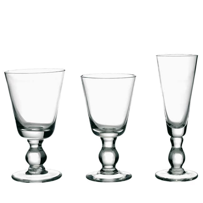 La Rochere 6-piece Mouth Blown Bocage Glassware Set