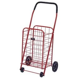 Mini Red Shopping Cart