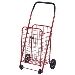 Mini Red Shopping Cart