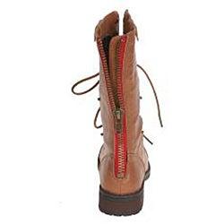 Sweet Beauty Women's Terra Mid-calf Combat Boots