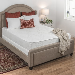 Select Luxury Damask and Foam Flippable Medium-Firm 10-inch Full-size Mattress