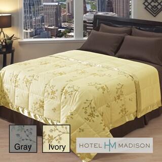 Hotel Madison 350 Thread Count Floral Vine Luxury Down Blanket
