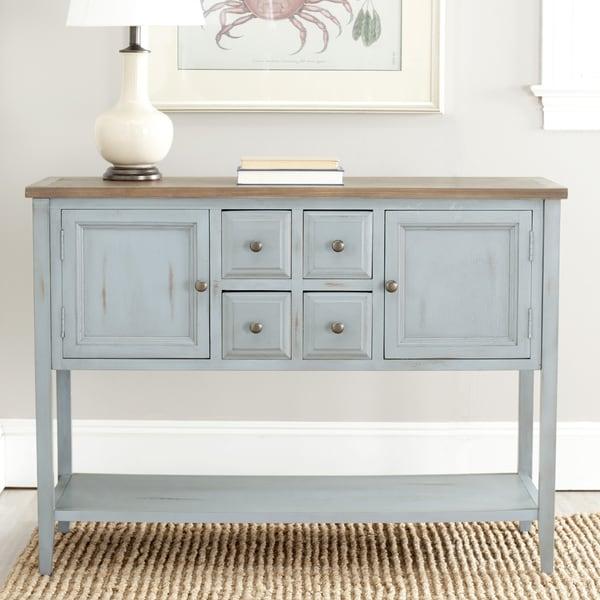 Safavieh Sideboard: Shop Safavieh Brighton French Blue Finish Storage