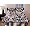Pointehaven Montgomery Cotton 2-Piece Twin Duvet Cover Set