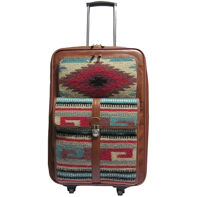 Amerileather Odyssey 23-inch Expandable Carry-On Spinner Upright
