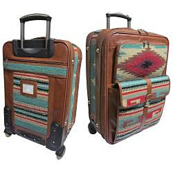 Amerileather Odyssey 23-inch Expandable Carry-On Spinner Upright - Thumbnail 1