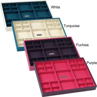 WOLF Stackables Large Lined Standard Jewelry Storage Tray