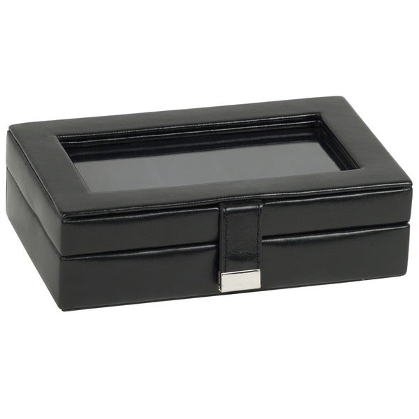 WOLF 15-piece Cufflink Box with Glass