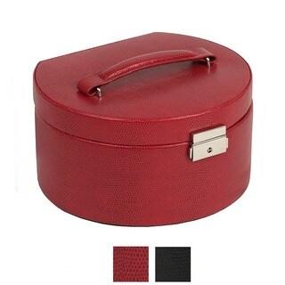 WOLF 'South Molton' Round Jewelry Box