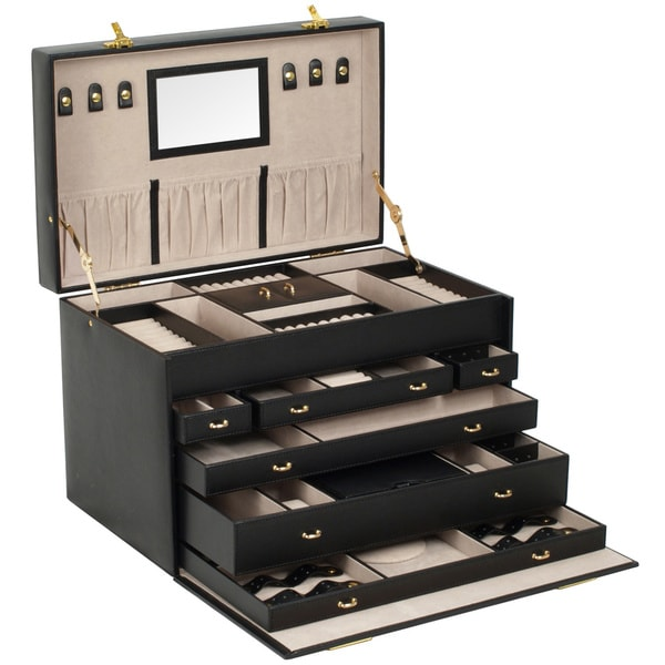 XL Heirloom Jewelry Trunk Free Shipping Today Overstockcom