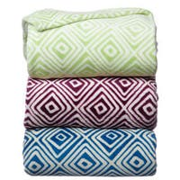Luxury Printed Square Blanket