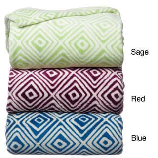 Luxury Printed Square Blanket