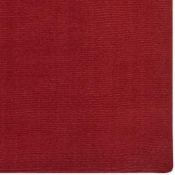 Hand-crafted Red Solid Casual Dronfield Wool Rug (12' x 15') - Thumbnail 1
