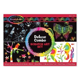 Melissa & Doug Deluxe Scratch Art Set|https://ak1.ostkcdn.com/images/products/6375525/P13991063.jpg?impolicy=medium