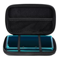 INSTEN Black Lite Eva Case Cover for Nintendo 3DS/ NDS