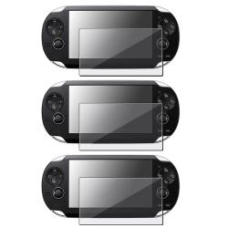 LCD Screen Protector for Sony PSP Vita (Pack of 3)